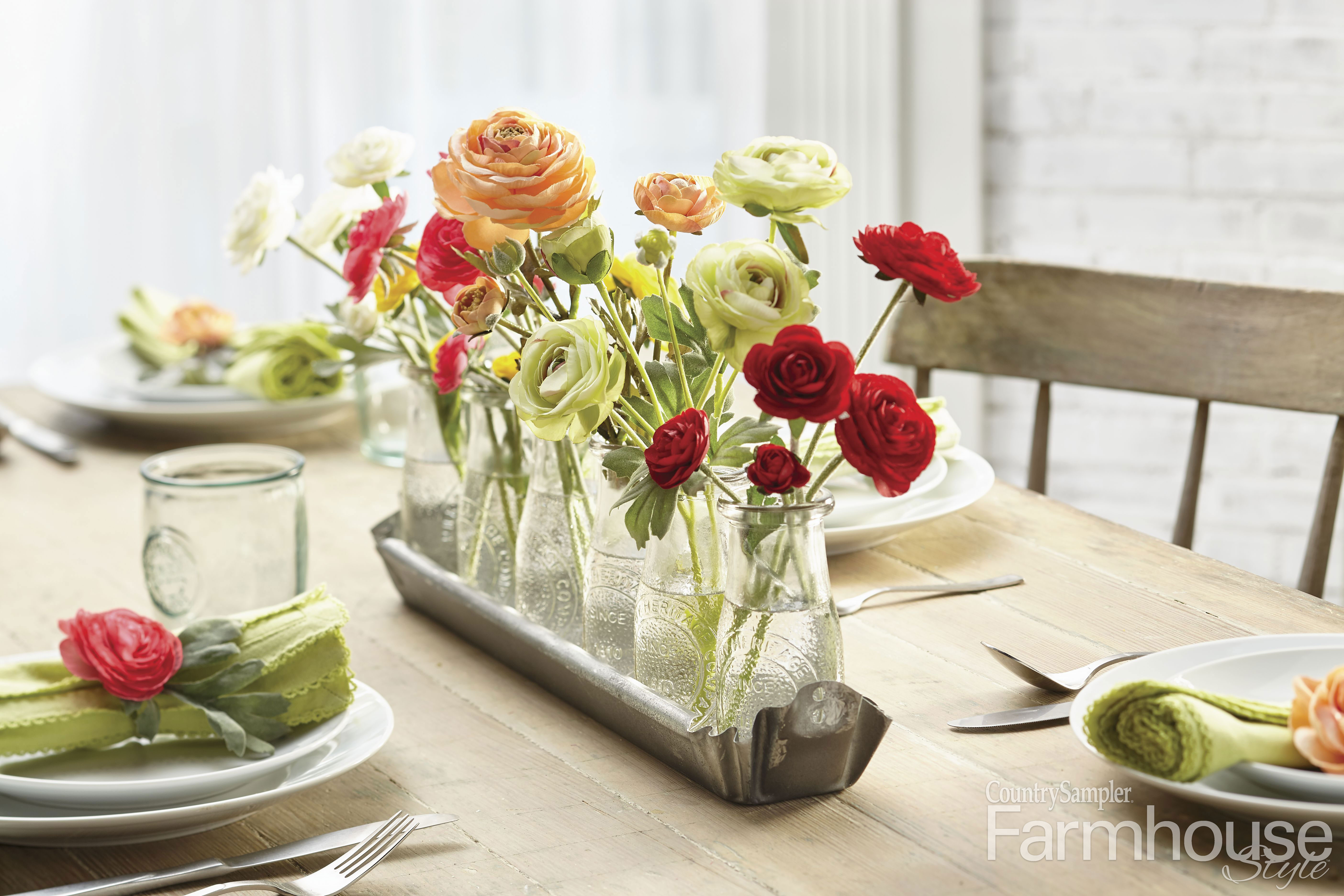 Farmhouse Floral Arrangements How Creative Can You Get