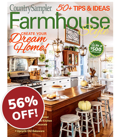 Farmhouse Style Magazine Cover