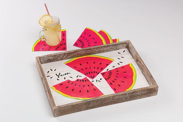 Fashion a Fresh & Fruity Tray