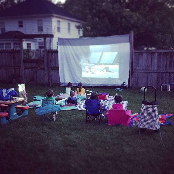 Host an Outdoor Movie Night