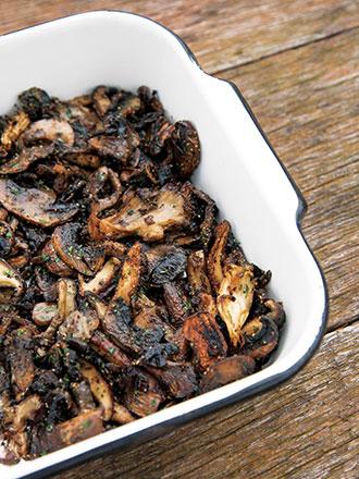 Mmm, Roasted Mushrooms!