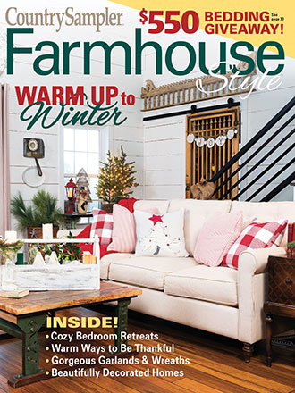 Country Sampler Farmhouse Style Holiday 2019