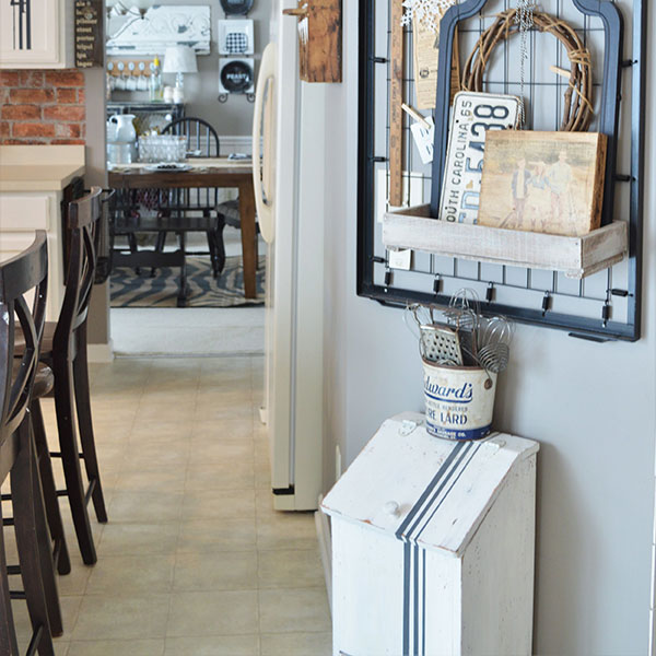 Paint Kitchen Cabinets with Farmhouse Flair