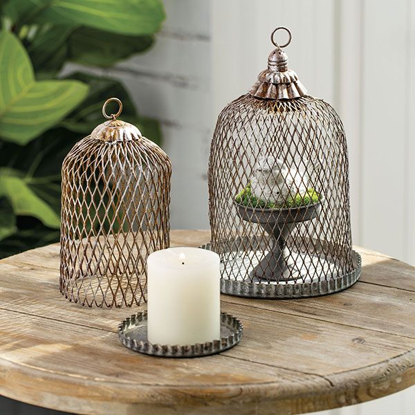 Grill Grate Cloches