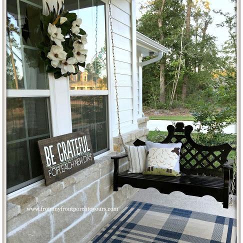Dreamy Porch Swings