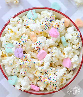 Candied Popcorn Treat