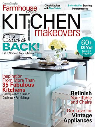 Farmhouse Style Kitchen Makeovers