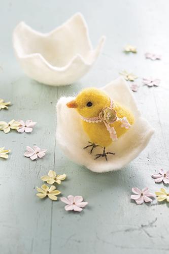 Make a Felt Easter Chick