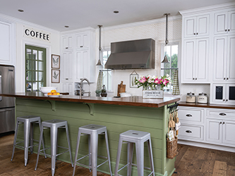 Paint Your Way to Pretty Cabinets