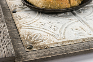 Make a Rustic Serving Tray